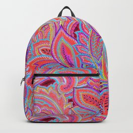 paisley heart  Backpack