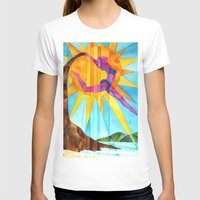 brand new T-shirts featuring Brand New Day by Heather Torres Art