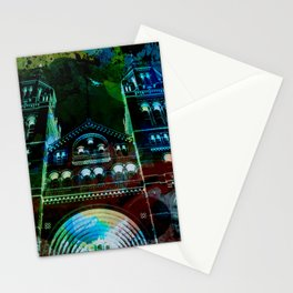UK, England, London, Natural History Museum, the facade Stationery Cards