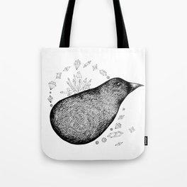 Lump bird Tote Bag