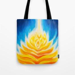 flame temple Tote Bag