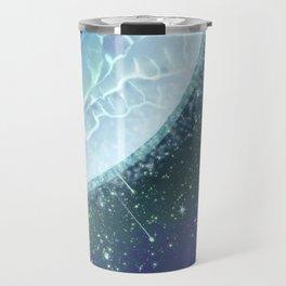 Mystical blue planet Travel Mug