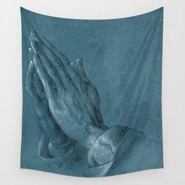 """""""Praying Hands"""" by Albrecht Dürer Wall Tapestry"""