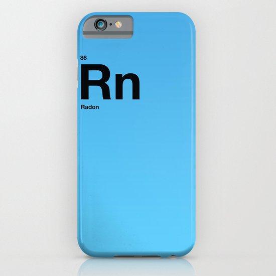 Radon iPhone & iPod Case