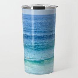 Lone Surfer Travel Mug