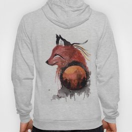 Tetrad the Bloodmoon Fox Hoody