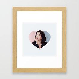 Song ji hyo Framed Art Print