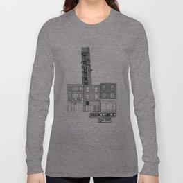 Brick Lane, Shoreditch, London Long Sleeve T-shirt