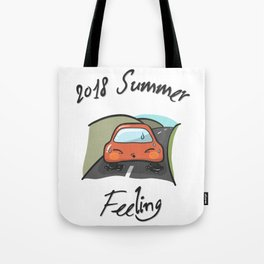 Little Car -  in Extreme Heat Tote Bag