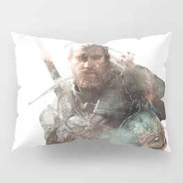Geralt of Rivia Pillow Sham