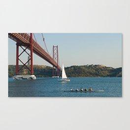 aviron Lisbon Canvas Print