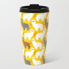 The Alpacas Metal Travel Mug