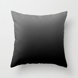 Dark Ombre Throw Pillow