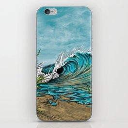 Original Surf Artist with Unique Style  iPhone Skin