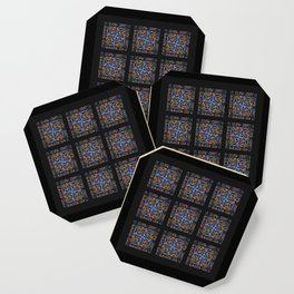 Stained Glass Window Tiles Coaster
