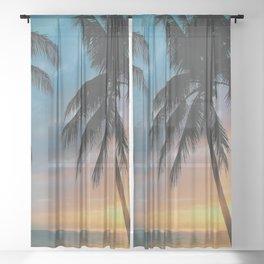 Early Mornings Sheer Curtain