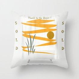 Solarenergie Thanks Throw Pillow