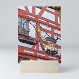 Zunfthaus Ulm Mini Art Print
