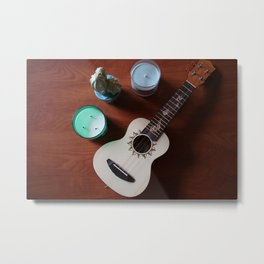 Ukulele Sessions Metal Print
