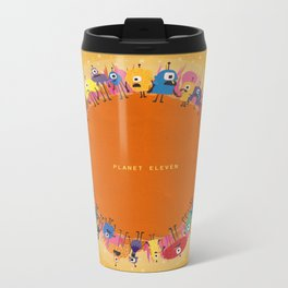 Planet Eleven Metal Travel Mug