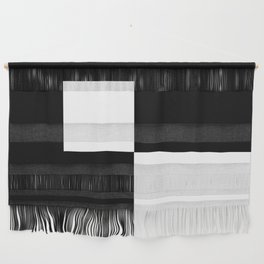 Black and White Color Block #2 Wall Hanging