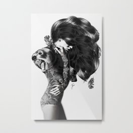 Bear #2 Metal Print