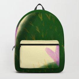 Watercolor Cactus Backpack