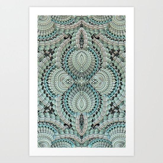 Lace Doily Art Print