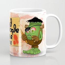 'Normal People Scare Me' Humorous Frankenstein Character Coffee Mug