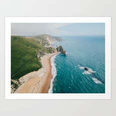 Coastal Drive Art Print