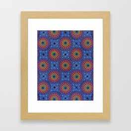 Interdimensional Eternity Framed Art Print