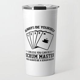 Scrum Master Agile Software Development Travel Mug