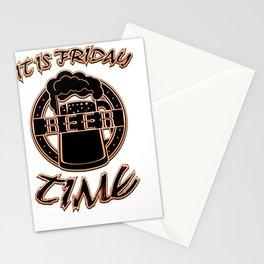 beer - I love beer Stationery Cards