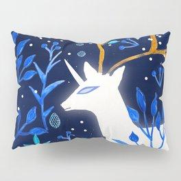 Deericorn In Blue Pillow Sham