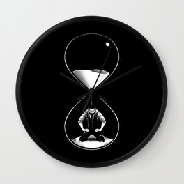 Life Is Passing By Me Wall Clock