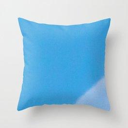 Blue Lunar Eagle Throw Pillow