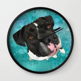 SMiTHY (shelter pup) Wall Clock
