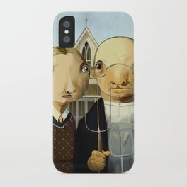 American Gothic iPhone Case