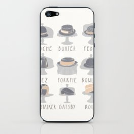 EAT MY HAT iPhone Skin