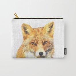 Fox Portrait Carry-All Pouch