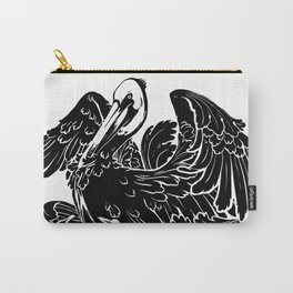 A Pelican in Her Piety Carry-All Pouch