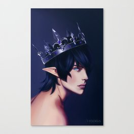 King Aymeric Canvas Print