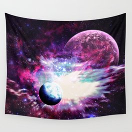 Celestial Existence Wall Tapestry