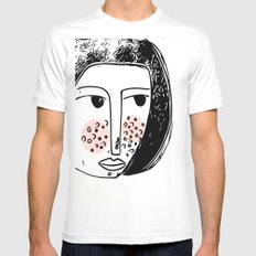 Pimply Monsters - 1 Mens Fitted Tee White MEDIUM