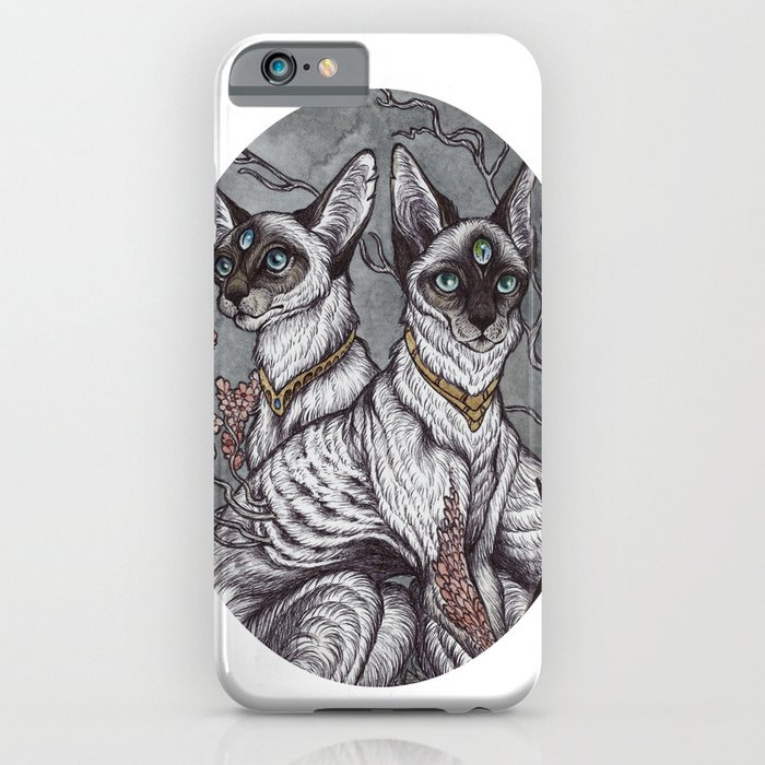 Gift of Sight art print iPhone Case