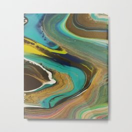 Cool Waters Metal Print
