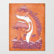 The Mushroom collector Canvas Print
