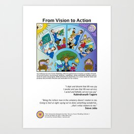 From Vision to Action Art Print