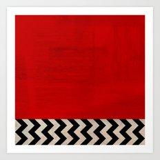 Twin Peaks - Red Room Art Print