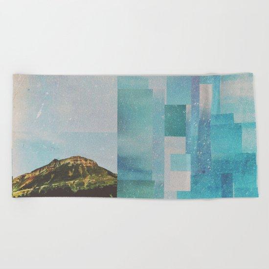 Fractions A65 Beach Towel